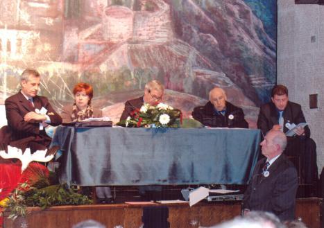 162. radno predsjedništvo Skupštine dr.Ivan ilić, dr.Edita Starović, Tripo Schubert , dr.Đuro Koj