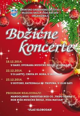 HGD Plakat koncerti