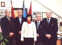 5-4 djelatnica konzulata RH u Kotoru , Ljubica u druttvu odlikovanih ƒlanova HGDCG