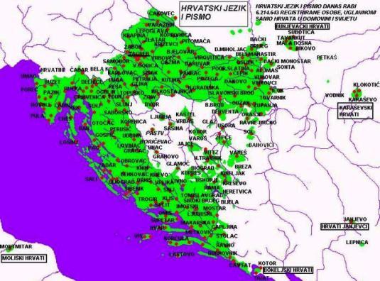 Hrvatski jezik i pismo-prikaz