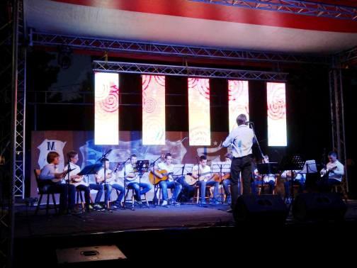 Nastup mandolinskog orkestra na otvaranju Festivala tamburaške muzike-Pljevlja 2015.