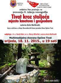 plakat Tivat kroz stoljeća 18. 11. 2015.