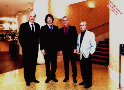 Četiri predsjednika HGD , Brguljan, Vičević, Ilič,Schubert