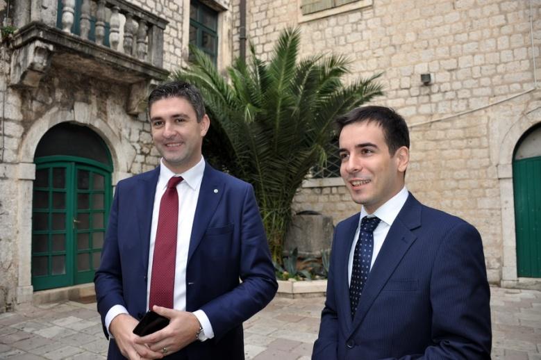 Franković i Jokić u Kotoru